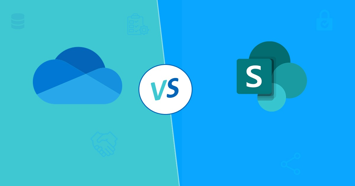 Comparison between OneDrive for Business and SharePoint