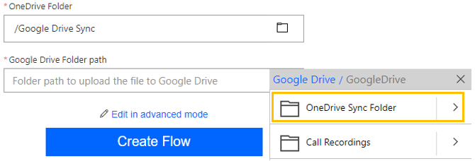 Image showing how to choose your folder paths 2