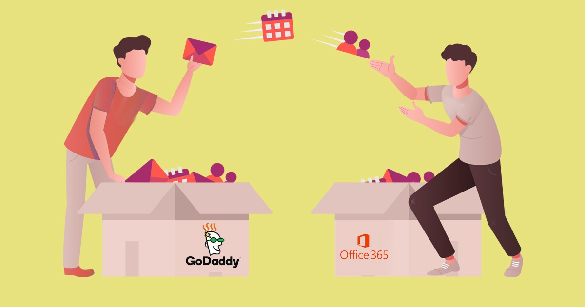 How to Migrate from GoDaddy Email to Office 365?