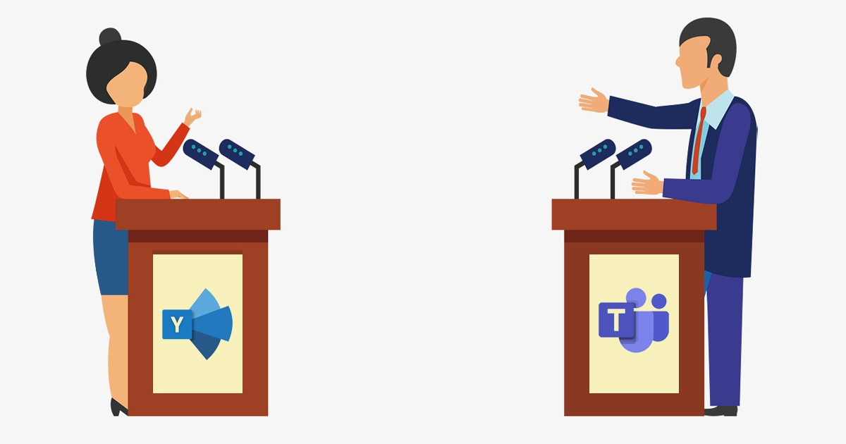 Yammer vs Teams – Comparison, Similarities, and Differences