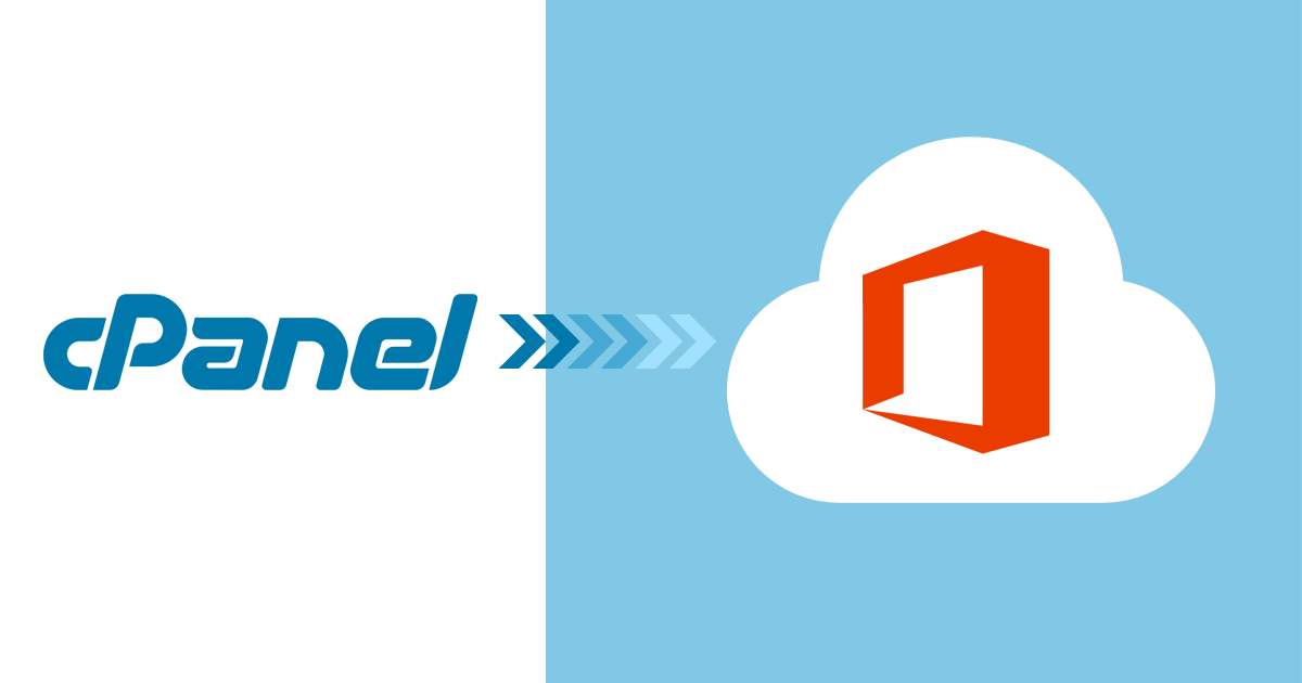cPanel to Office 365 Migration – Is It Possible?